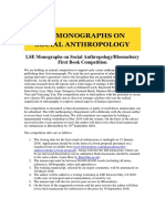 LSE Monographs on Social Anthropology 2015 16