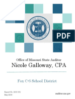 Audit of Fox C-6 School District