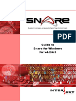 Guide to Snare for Windows-4.3