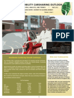 Carsharing Innovative Mobility Industry Outlook