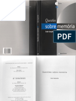 Questiones Sobre Memoria (Ivan Izquierdo)