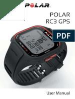 Manual Reloj Polar