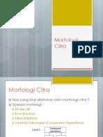 Slide 06 Morfologi Citra