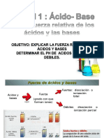 Acido- Base Fuerza Relativa 4 Electivo