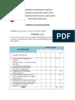 Autoevaluacion 1 y 2