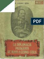 La Diplomacia Paraguaya de mayo a Cerro-Corá de Hipólito Sanchez Quell