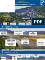 PRESENTATION - BRIEF INTRODUCTION TO EGIIN GOLIIN HYDRO POWER PLANT PROJECT