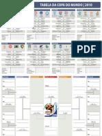 Tabela Copa 2010