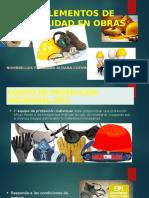 Implemento de Seguridad en Obras