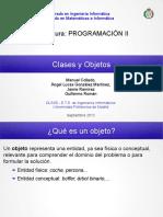 Clases y Objetos - 1