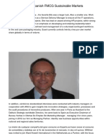 The PLs Role In Spanish FMCG Sustainable Markets