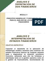 Principios Contables análisis de los estados financieros