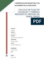 Calculo de Caudales Por El Metodo de Hardy Cross