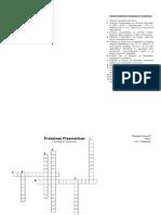 proteinas plasmaticas crucigrama