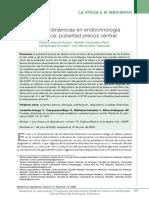 PRUEBAS DIAGNOSTICAS ENDOCRINOLOGIA