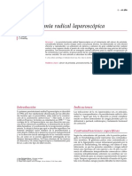 Prostatectomia Radical Laparoscopica - Encyclopédie Médico-Chirurgicale