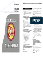 Algebra Ficha Cepru 2010