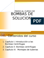Bombas de Solucion