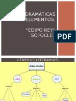 Generos Literarios y Edipo Rey