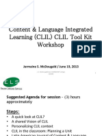 CLIL Tool Kit Workshop
