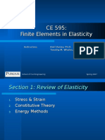 CE 595 Section 1