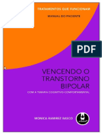 Vencendo o Transtorno Bipolar Com a Terapia Cognitivo Comportamental Manual Do Paciente