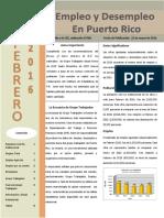 Empleo y Desempleo en Puerto Rico 2