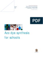 Azo Dye Synthesis for Schools