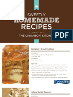 Cinnabon Homemades Recipes