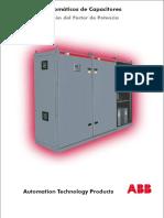 Bancos de Condensadores de ABB Sin Precios