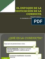 Clase_4 cognitivo conductual