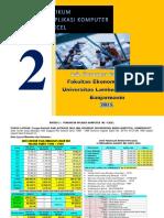 Praktikum Aplikom 2 - Ms-Excel
