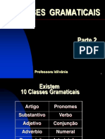 Classes Gramaticais Geral