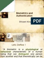 Interesting types of Biometrics