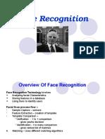 Face Recognition - Biometrics