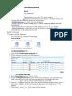 AG - Creating MySQL Database