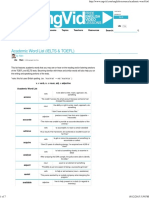 Academic Word List (IELTS & TOEFL) · EngVid