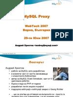 Mysql Proxy Varna