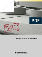 Competence in Cement
