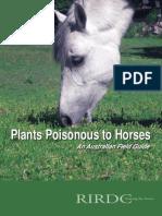Fieldguide to toxic plants in Australia