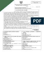 Prueba de Lenguaje y Comunicacion- Caballero de La Armadura Oxidada- Leyenda- 17- 10