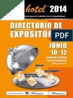 Exphotel Directorio 2014