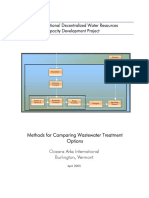 Metode Desain Wastewater