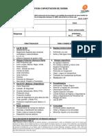 Ficha y Test Inducción Ingreso CMPC Laja Rev10. 10-15