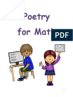 poetry with math