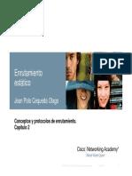 Conceptos y Protocolos de Enrutamiento.