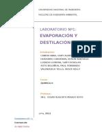 Inf laboratorio destilación