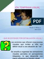 Estimulación Temprana Visual 2015 P.Pérez