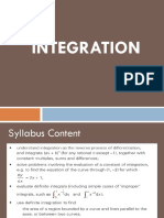 Integration Notes 1