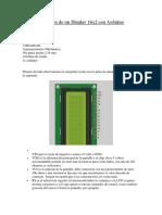 Conexión de Un Display 16x2 Con Arduino